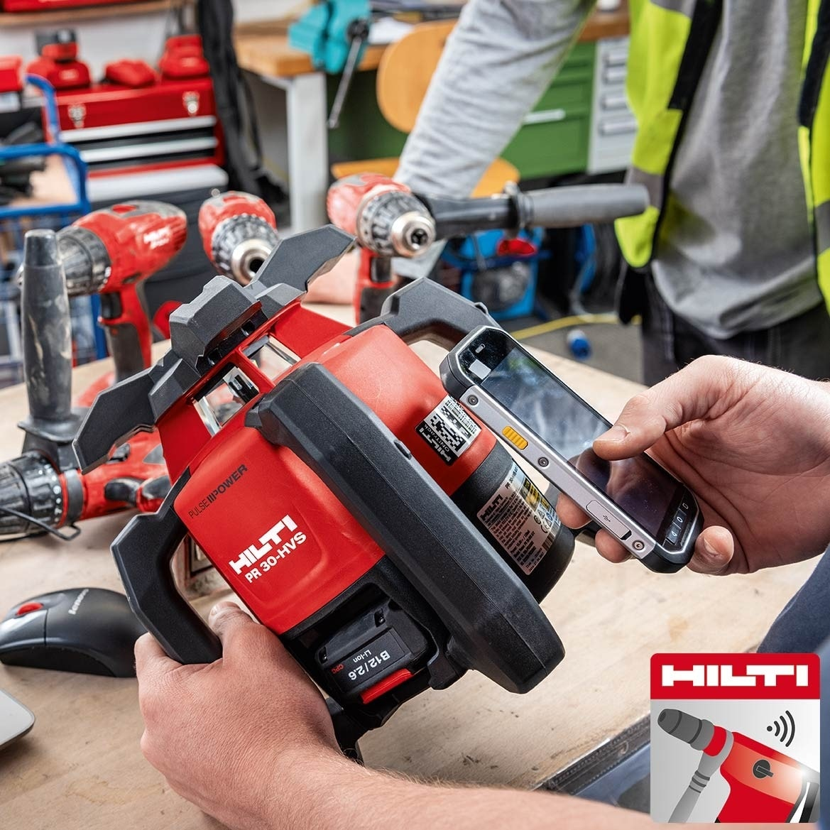 Hilti Connect App brings hassle-free tool services to your fingertips. Download from the App Store and Google Play